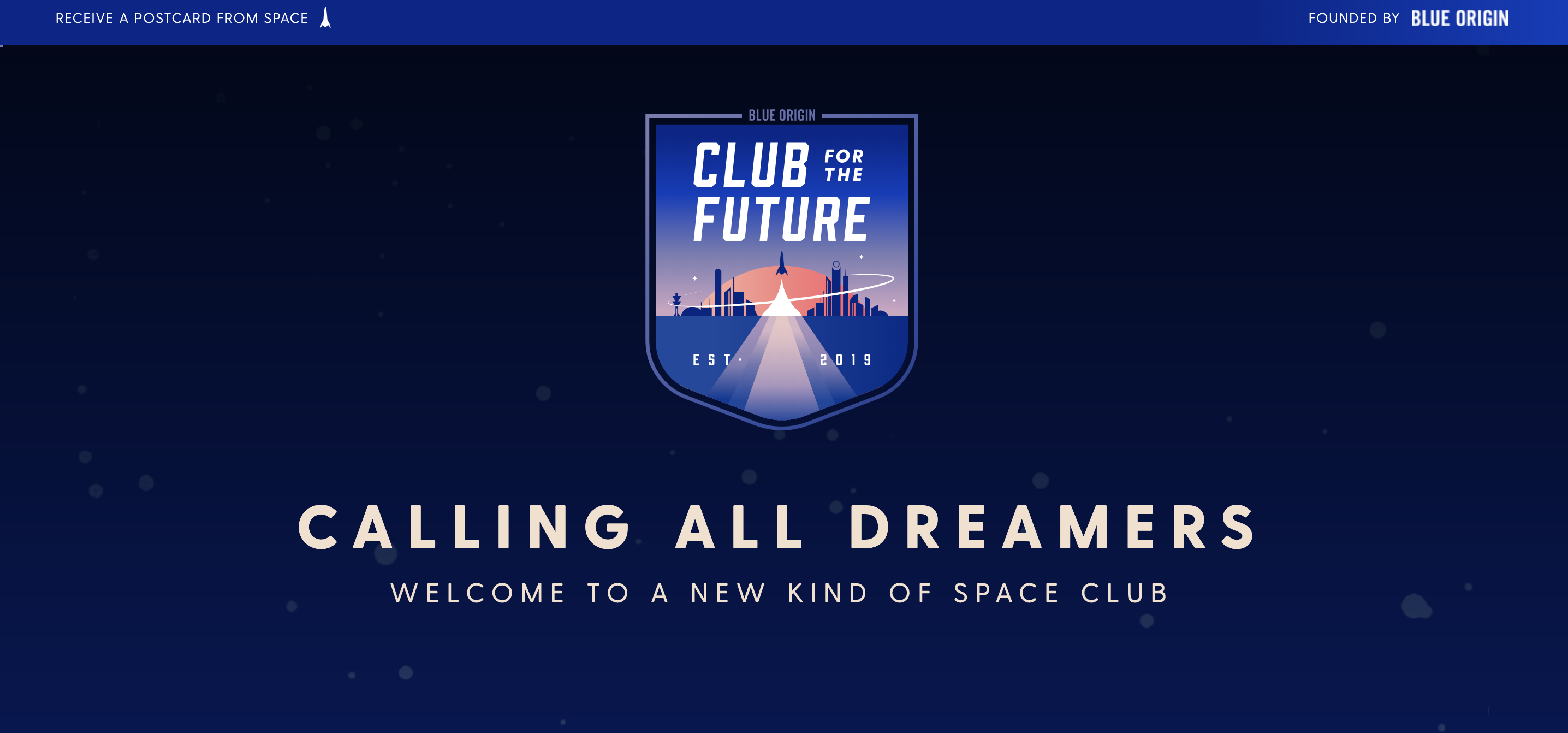 """Blue Origin launches """"Club for the Future"""" to inspire a new generation of space exploration"""