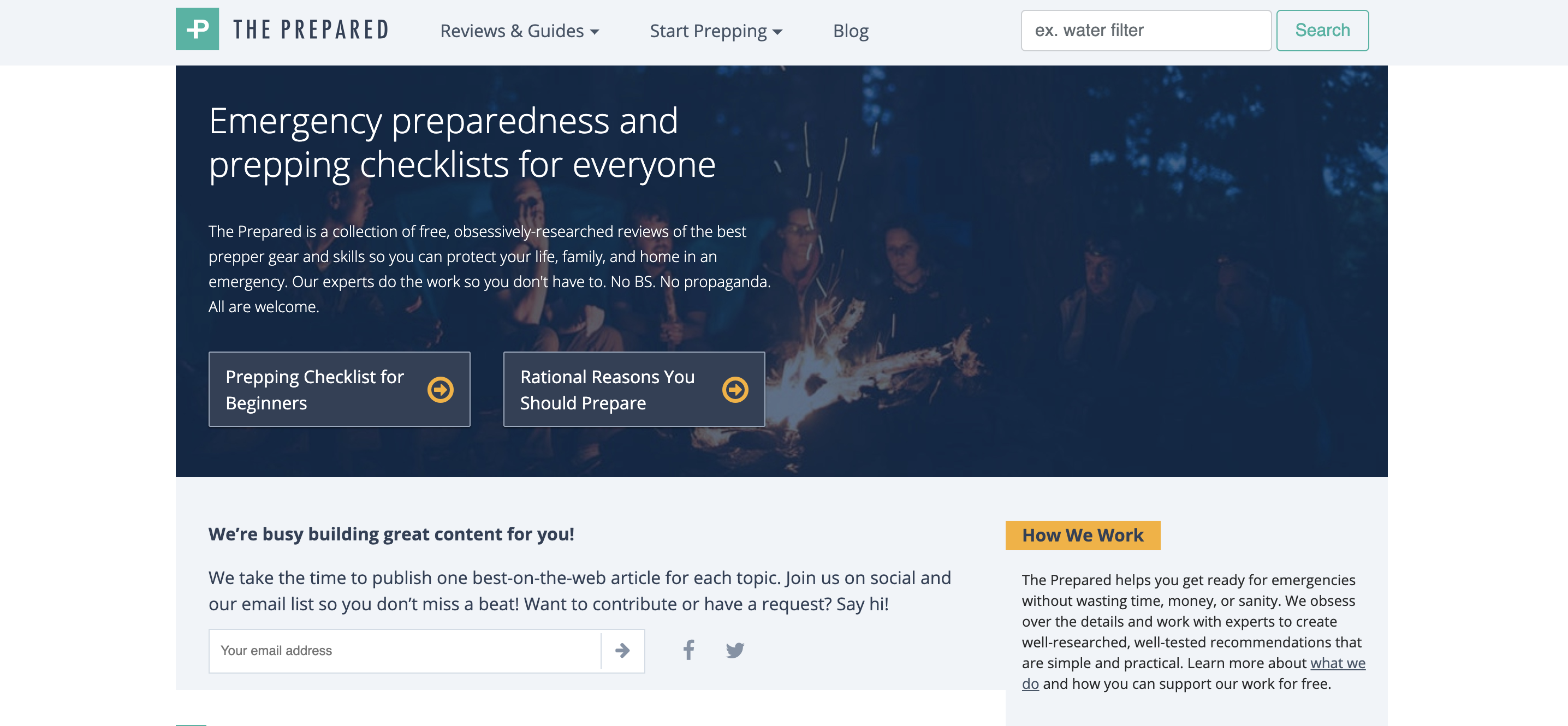 Meet 'The Prepared,' the media company pitching disaster preparedness for everyone