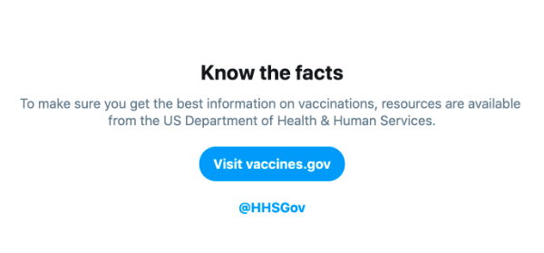 Twitter launches new search features to stop the spread of misinformation about vaccines