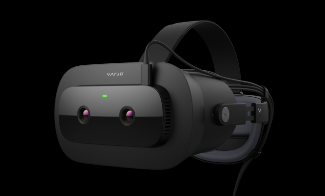 Varjo's XR-1 puts your eyes on the outside of its high-end VR headset