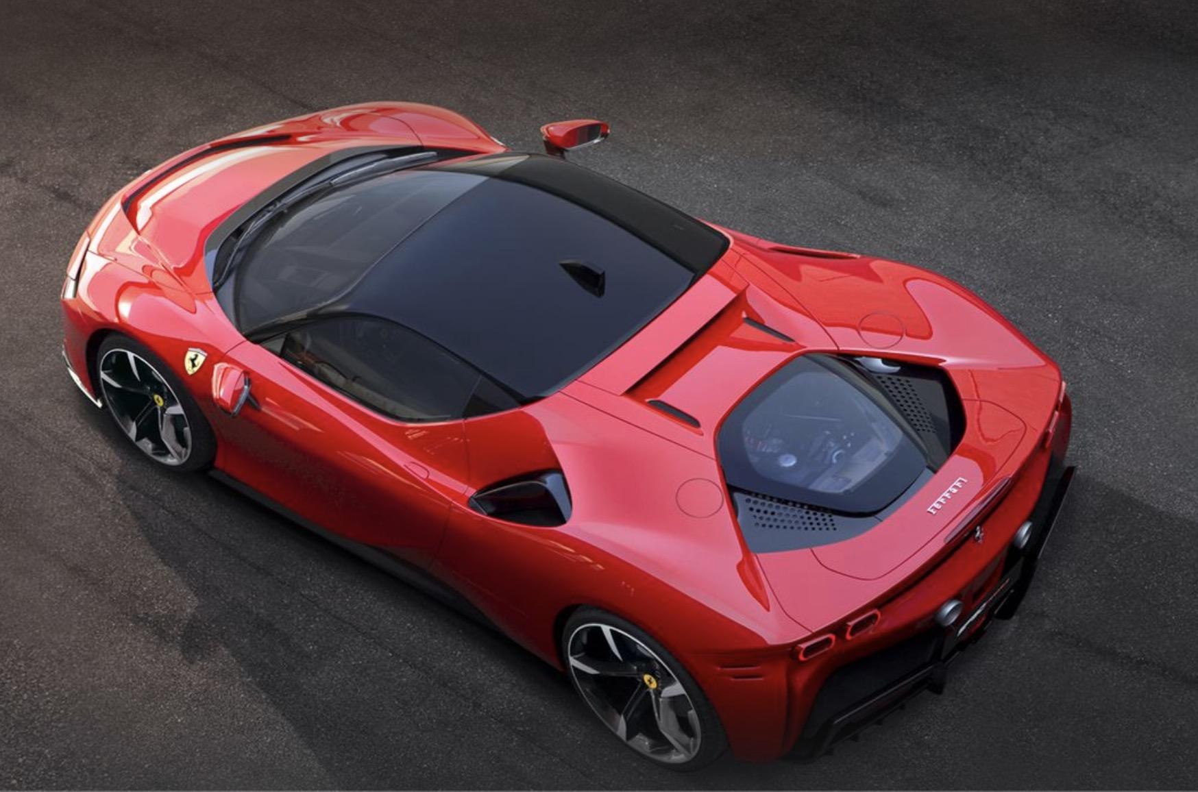 Ferrari\u0027s first plug,in hybrid is here \u2014 and it\u0027s faster