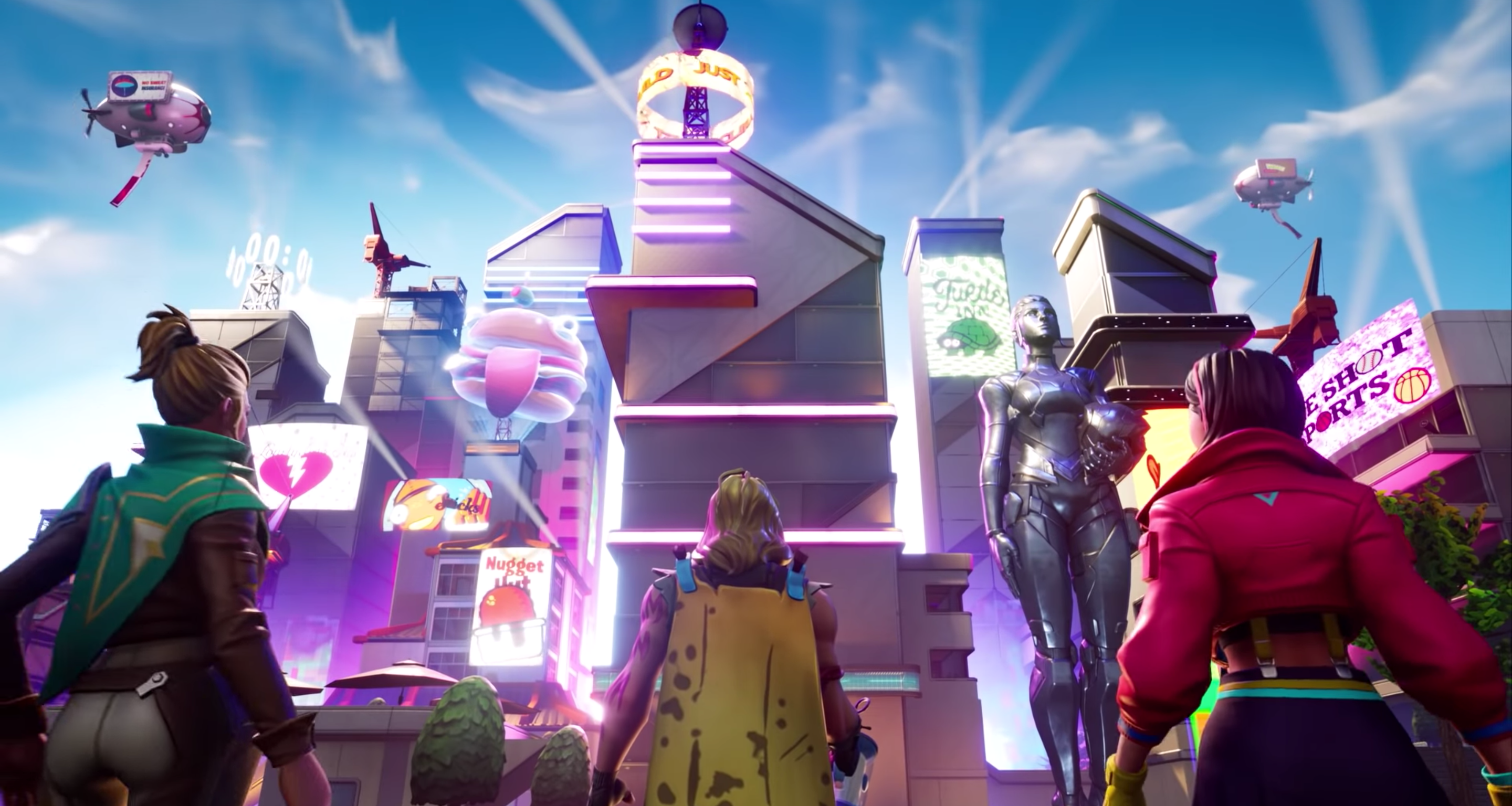 Fortnite Season 9 adds new locations and wind transport, but is