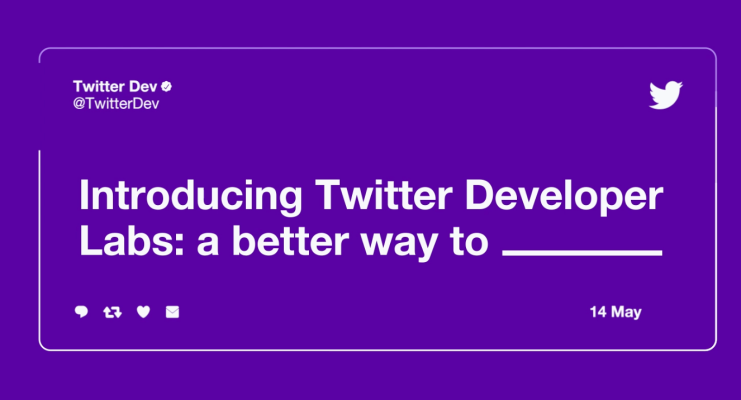 Techmeme: Twitter's new Developer Labs offers beta access to