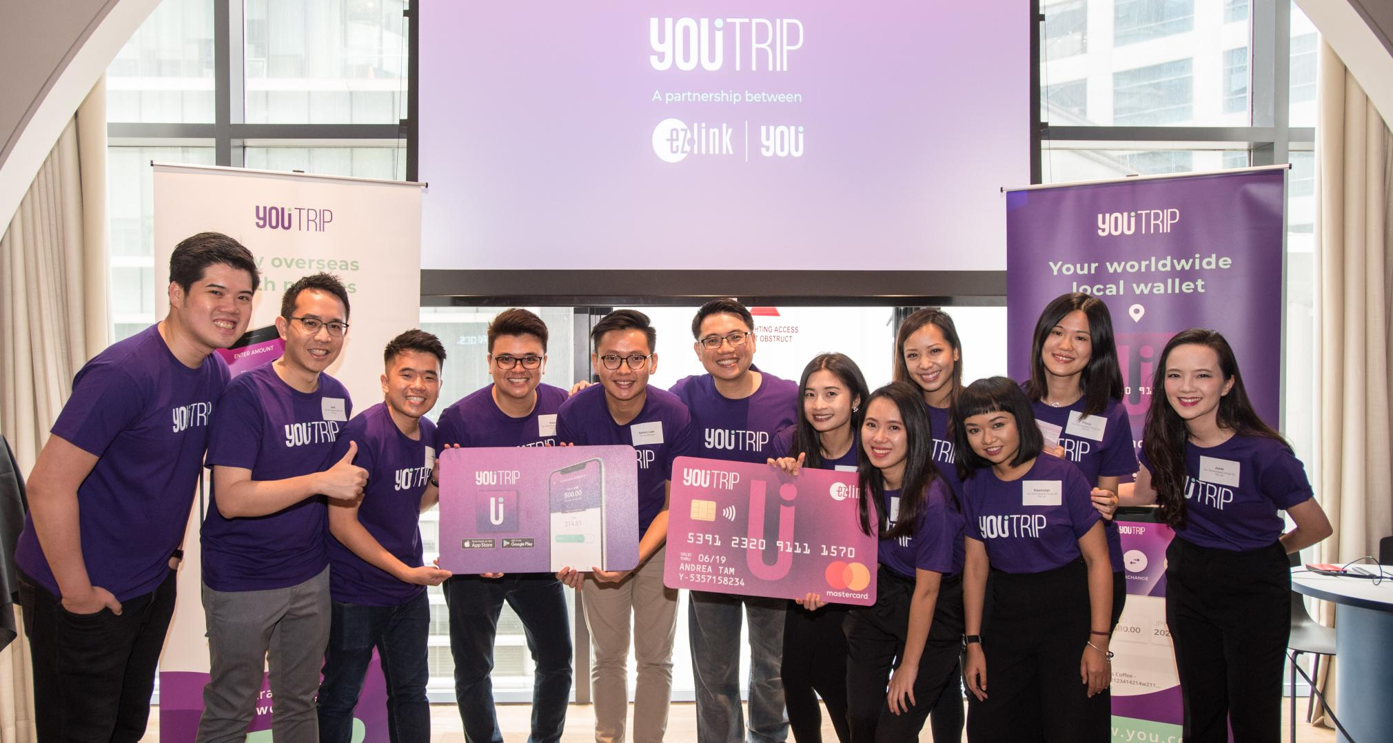 The YouTrip service in Singapore is integrated with Singapore's EZ-Tap payment system. Image: TechCrunch.com