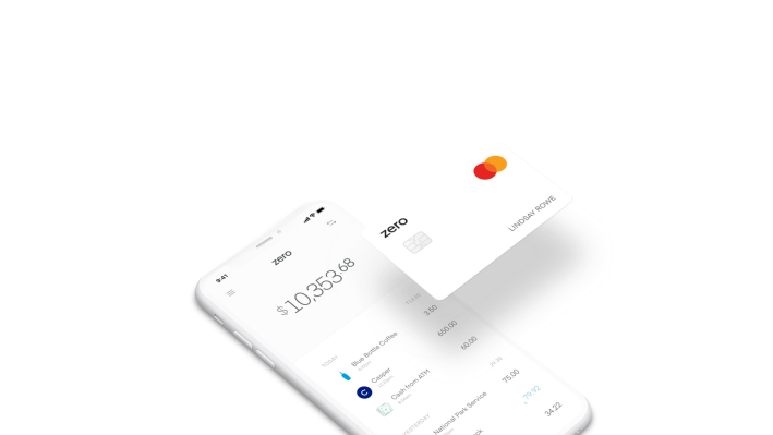Comment on Zero raises $20 million from NEA and others for a credit card that works like debit by Neal Batra
