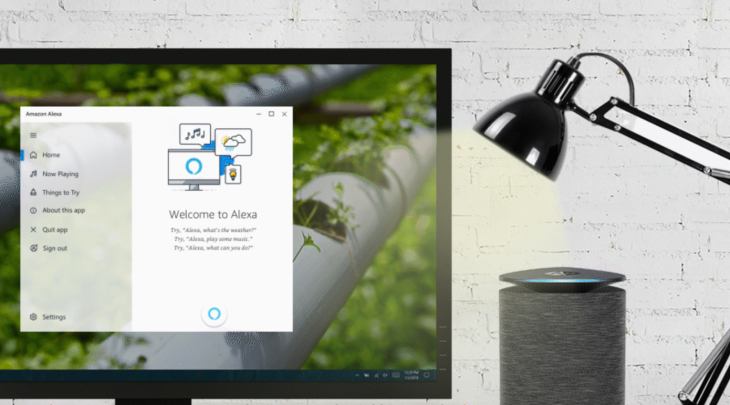 Alexa for Windows 10 PCs goes hands-free | TechCrunch