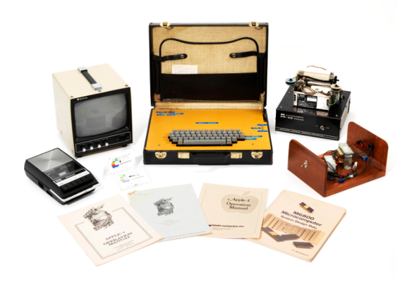An original Apple I built into a briefcase just sold for nearly $500k