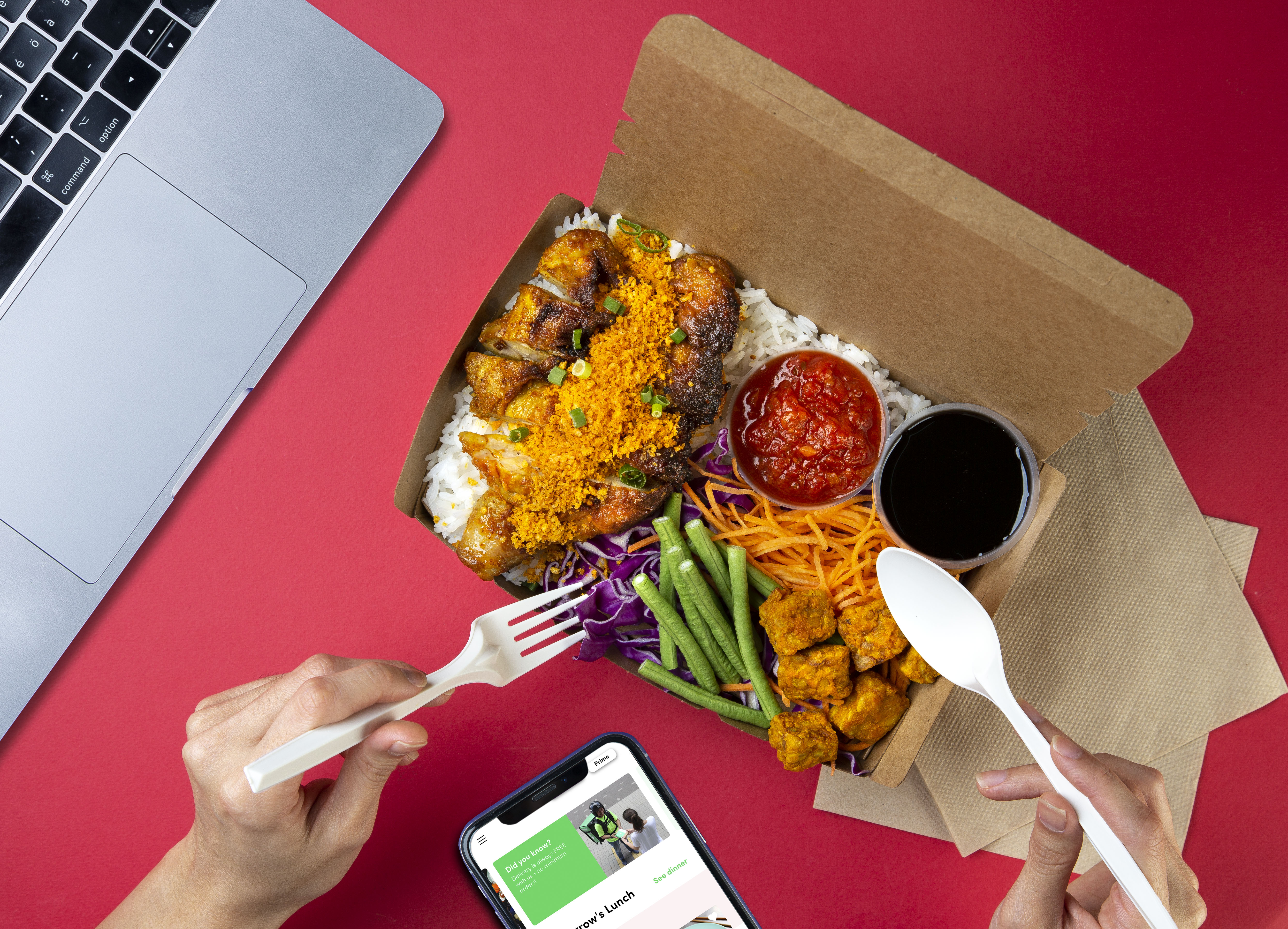 Food delivery startup Dahmakan eats up $5M for expansion in Southeast Asia