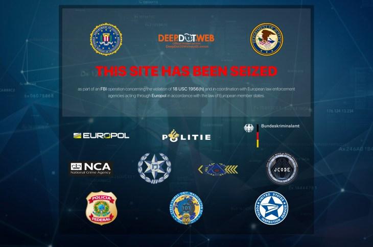 FBI has seized Deep Dot Web and arrested its administrators