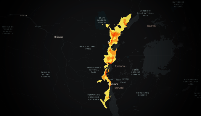 Facebook releases a trio of maps to aid with fighting