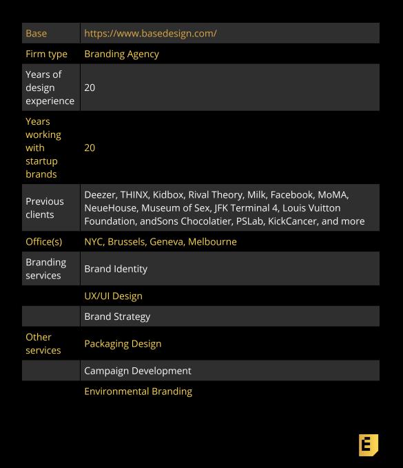 Verified Expert Brand Designer: Base