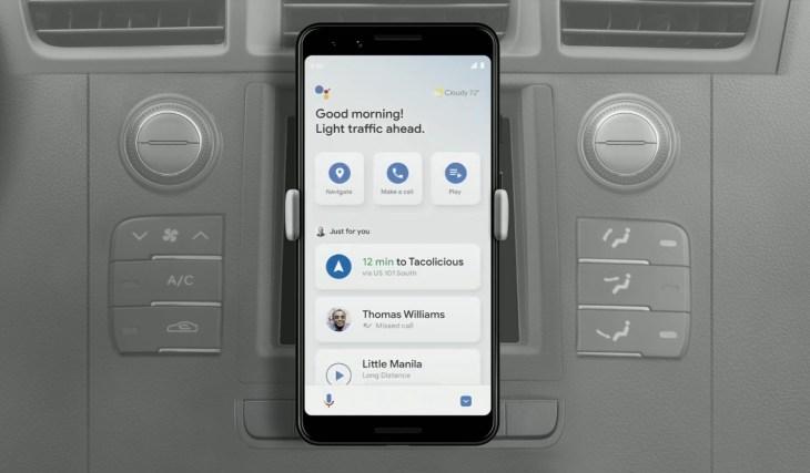 Google Assistant gets driving mode | TechCrunch