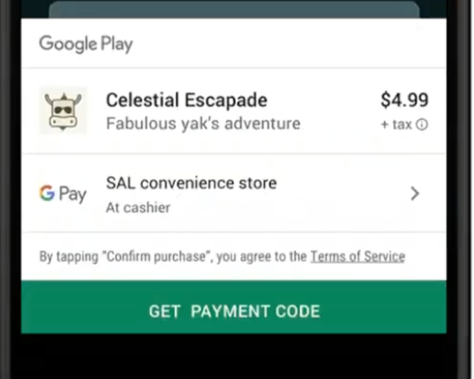 Google to allow users to pay for Android apps using cash