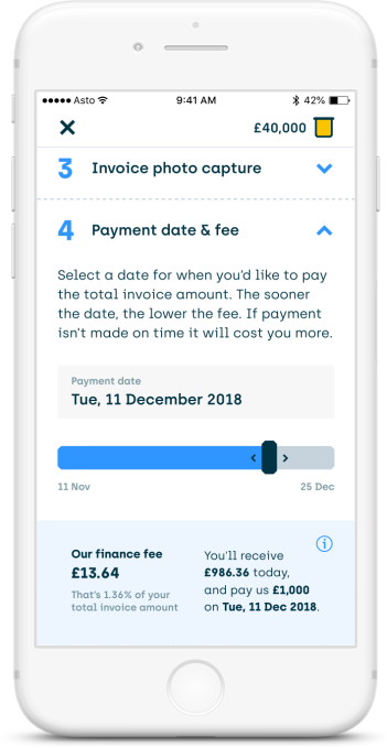 Asto, the bookkeeping app from Santander, adds invoice
