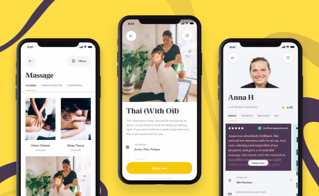 photo of Urban closes $10M Series B in bid to become 'one-stop shop' for on-demand wellness services image