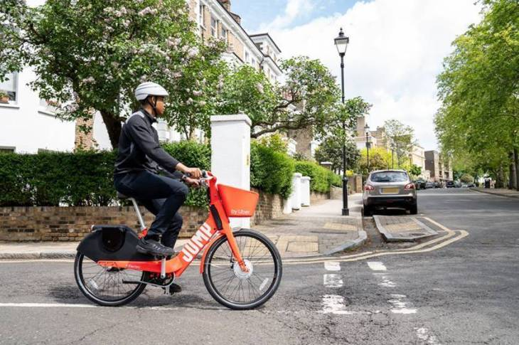 Uber launches a Jump e-bike pilot in London, one year on