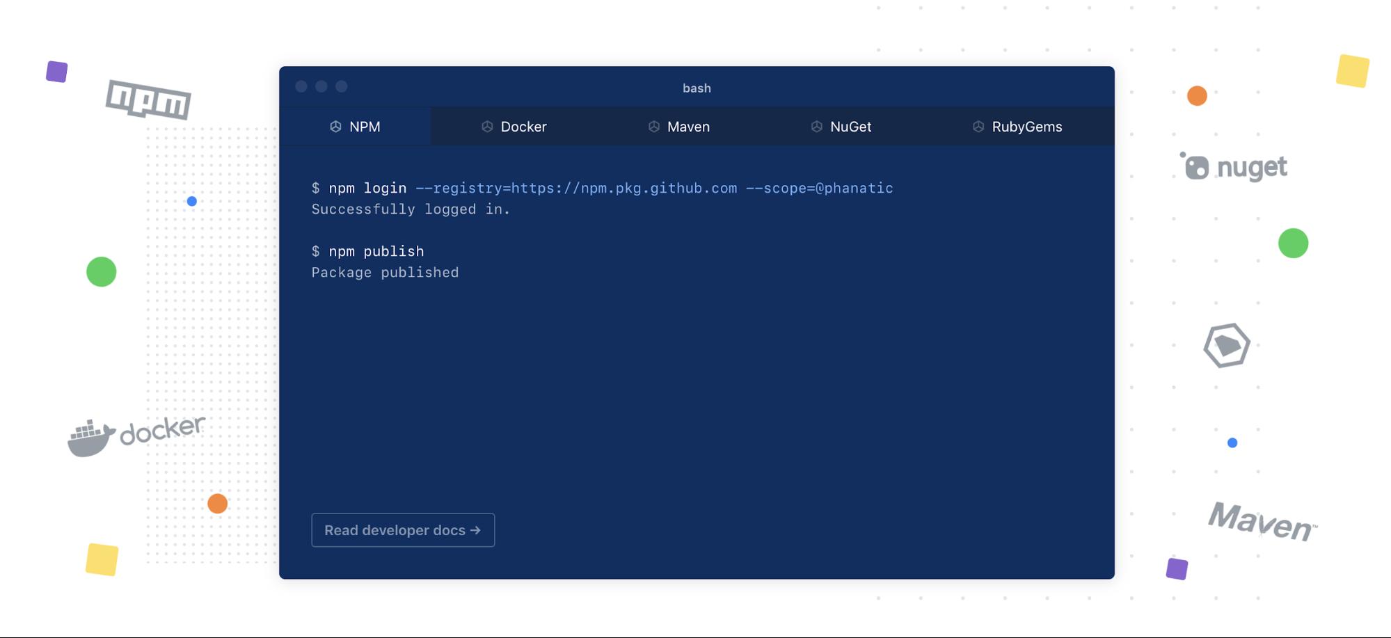GitHub gets a package registry | TechCrunch