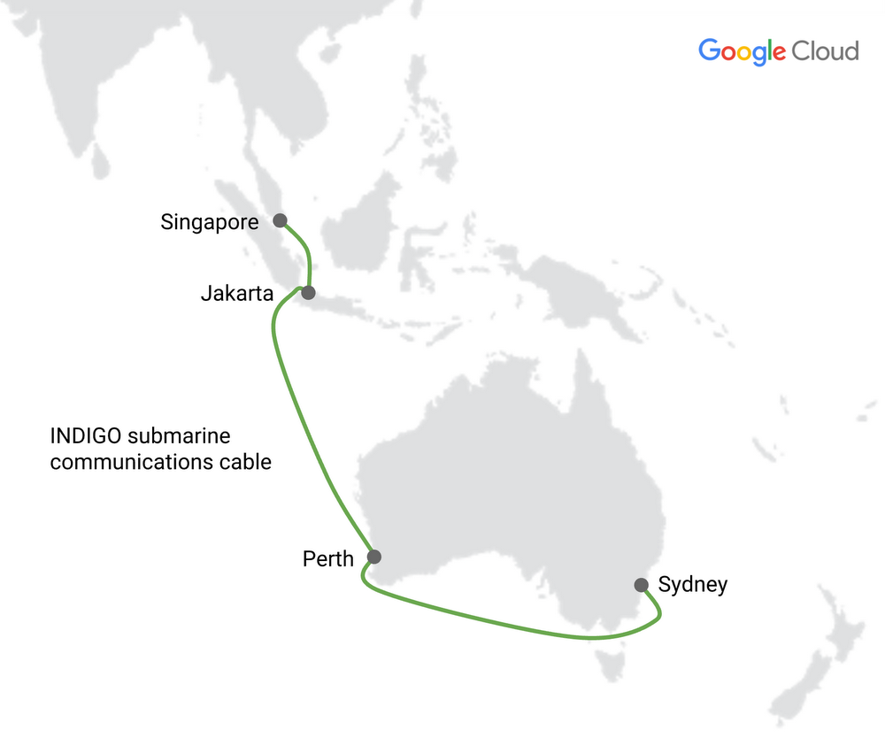 Google's Indigo subsea cable is now online