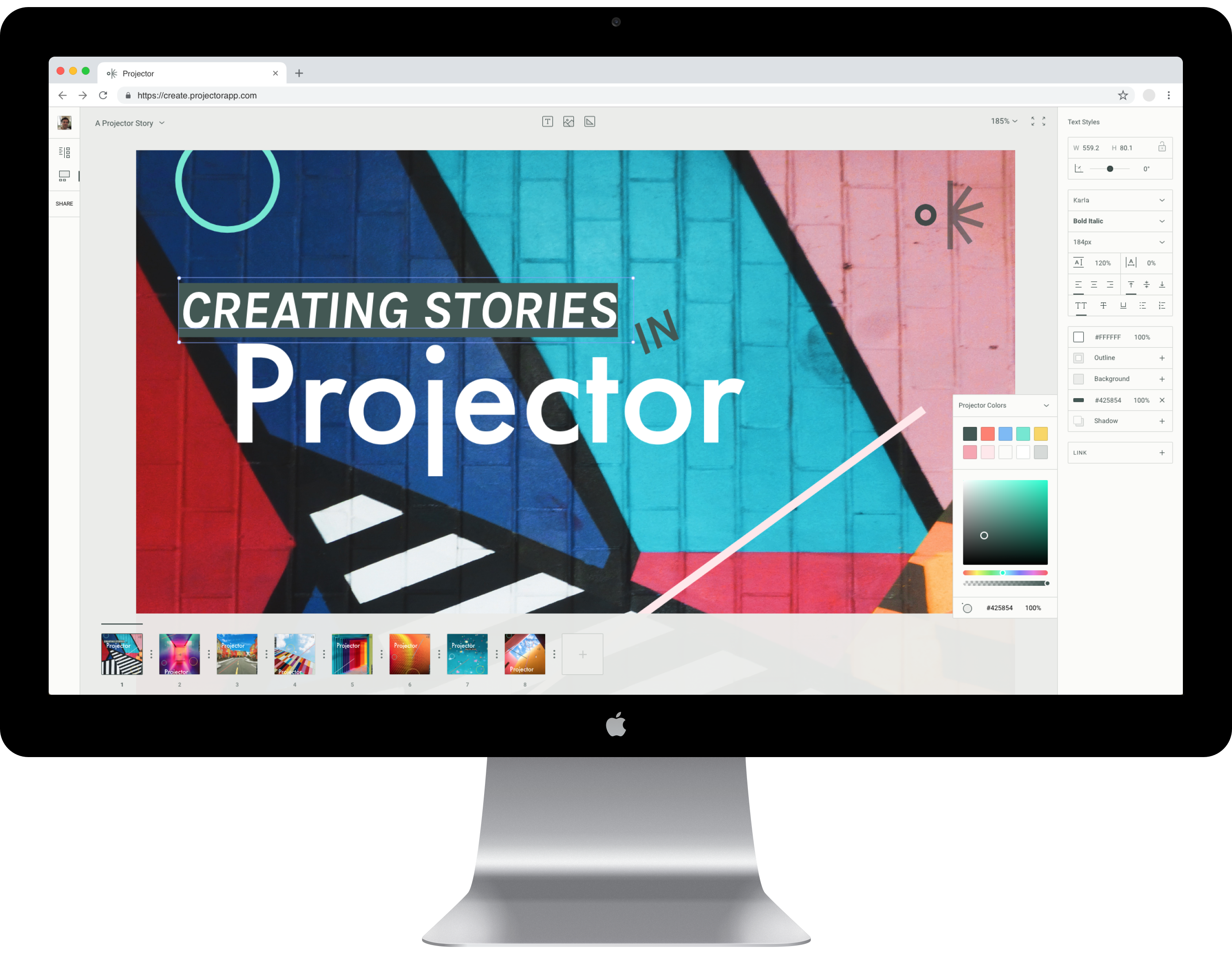 techcrunch.com - Kate Clark - Meet Projector, collaborative design software for the Instagram age