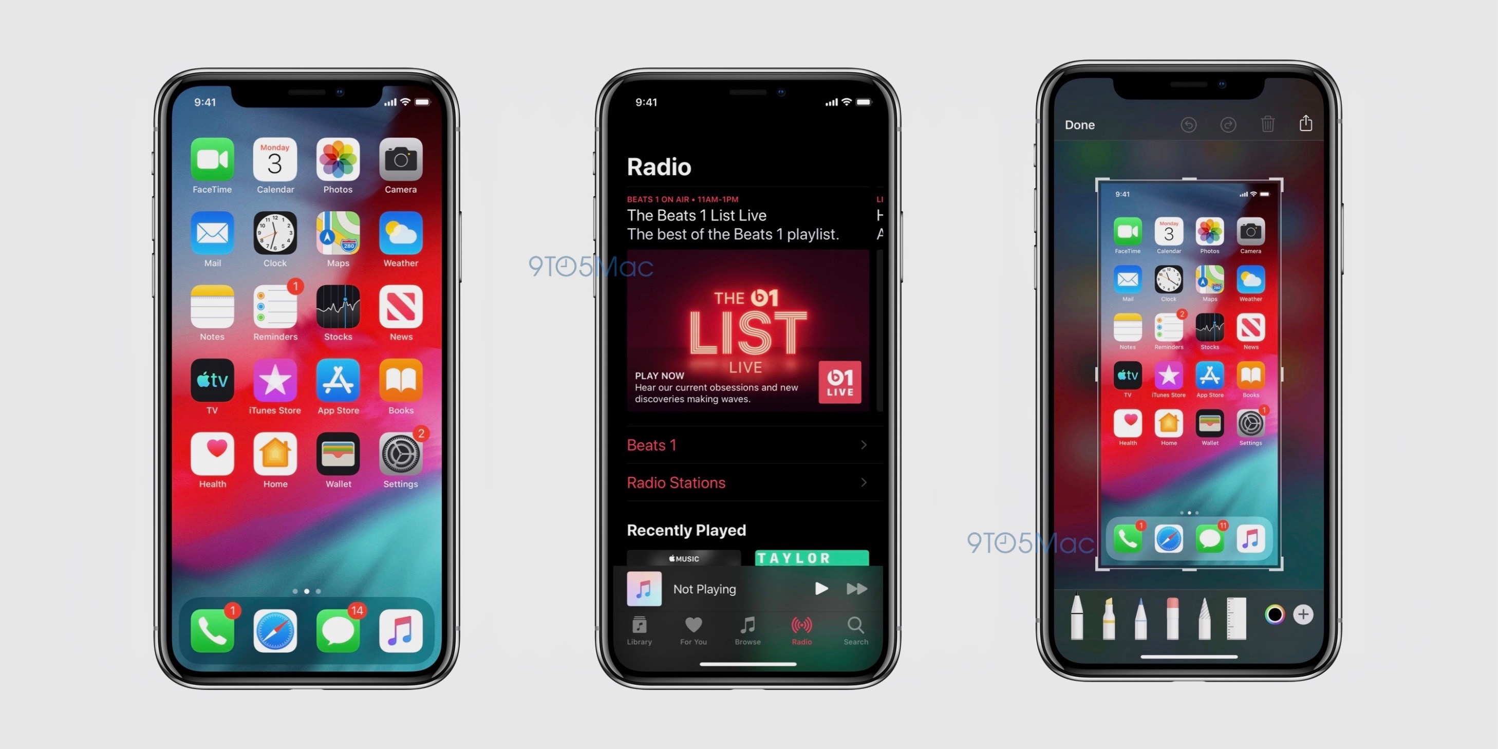 Leaked screenshots confirm dark mode is coming to iOS 13 | TechCrunch