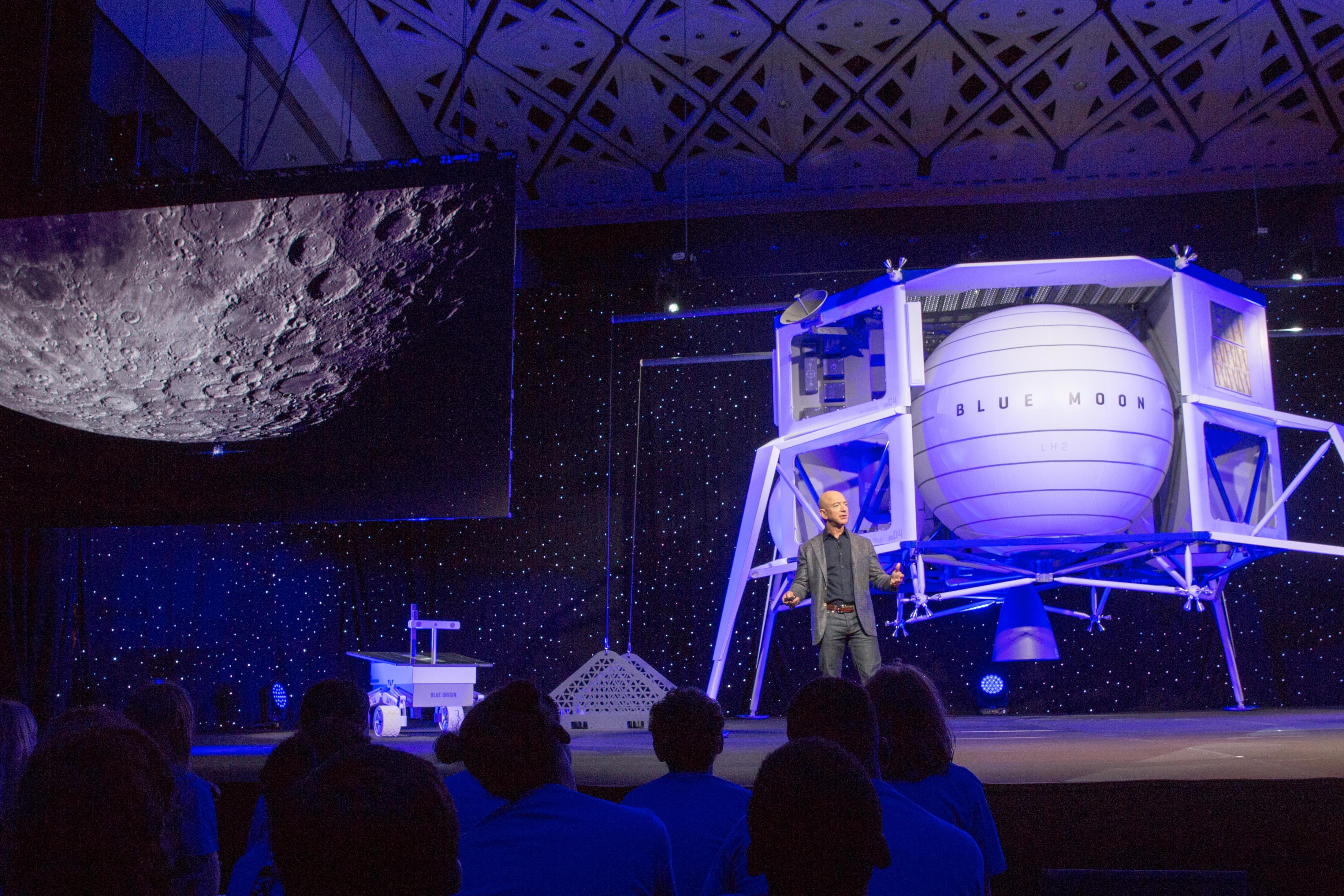 Jeff Bezos aims Blue Origin at the Moon   TechCrunch