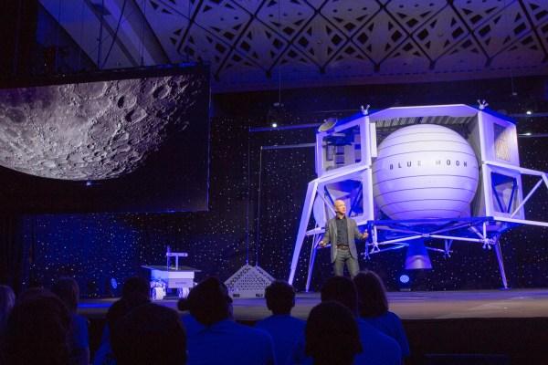 Jeff Bezos aims Blue Origin at the Moon - TechCrunch