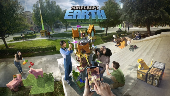 [Tvt News]Minecraft Earth makes the whole real world your very own blocky realm
