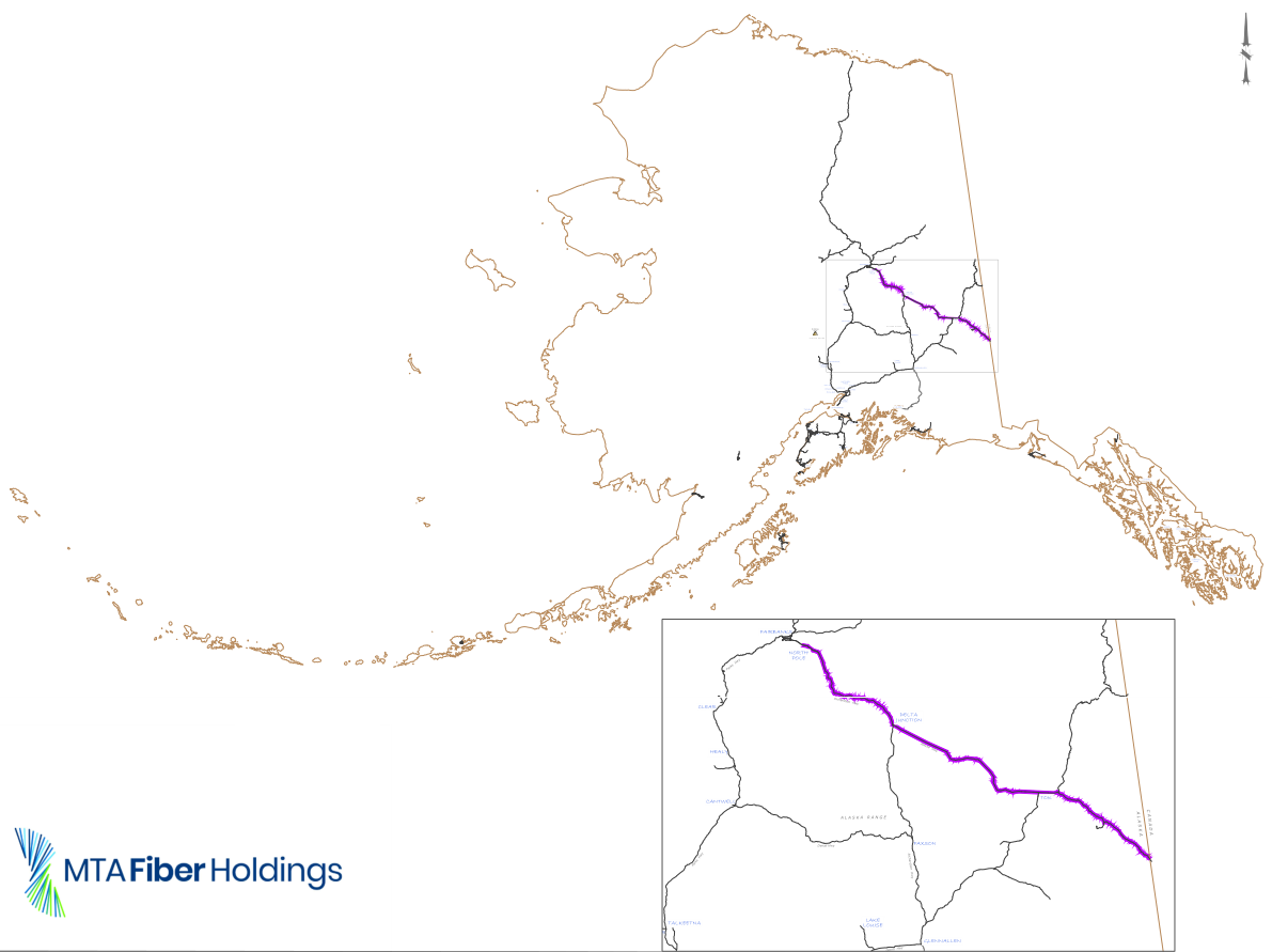 Brand new fiber link from Alaska to US will carry 100 terabits over the Yukon