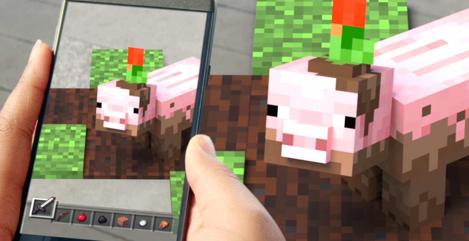 Minecraft Earth makes the whole real world your very own blocky realm
