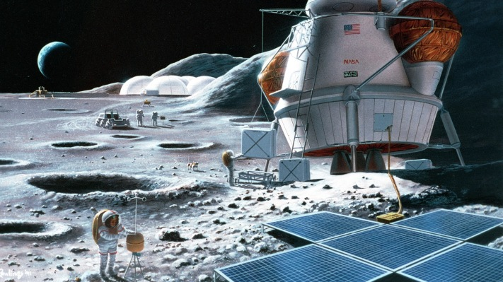 Comment on Blue Origin and SpaceX get million-dollar NASA nod to test Moon lander tech by Charles Ivie