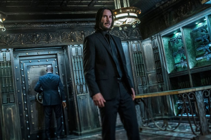 Keanu Reeves stars as 'John Wick' in JOHN WICK: CHAPTER 3 – PARABELLUM.