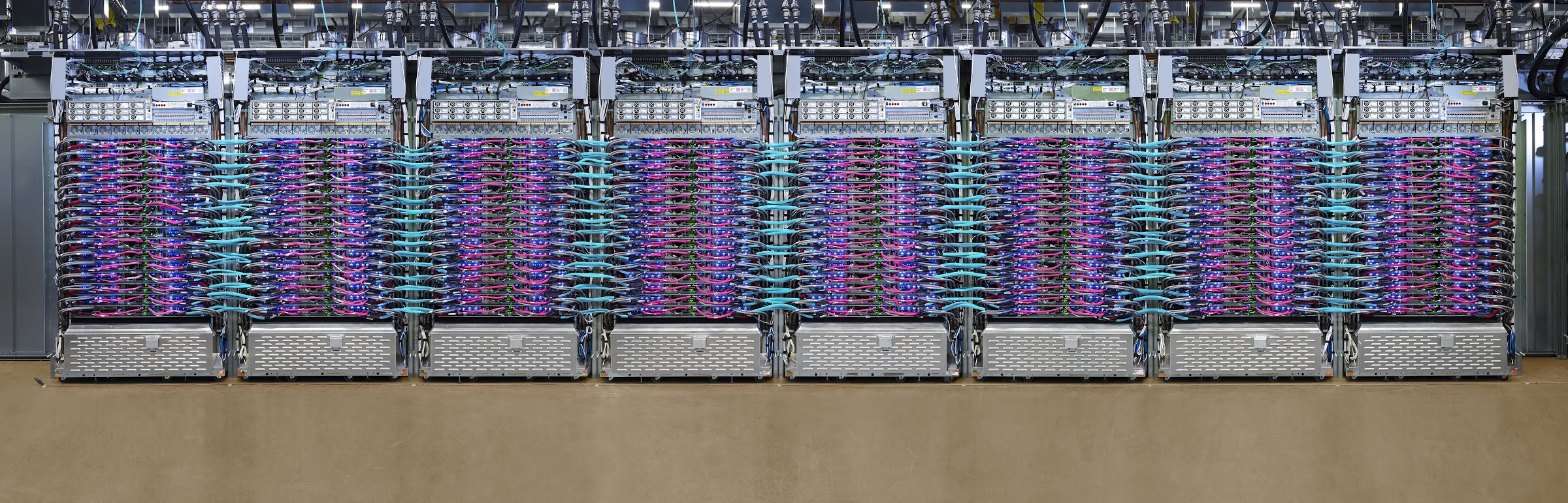 Google's newest Cloud TPU Pods feature over 1,000 TPUs 4