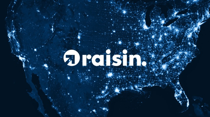 Raisin Rides into the U.S. With its Savings and Investment Marketplace