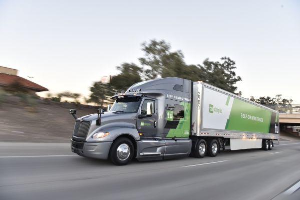 Comment on Self-driving truck startup TuSimple will haul mail for USPS in two-week pilot by Domingo Jose
