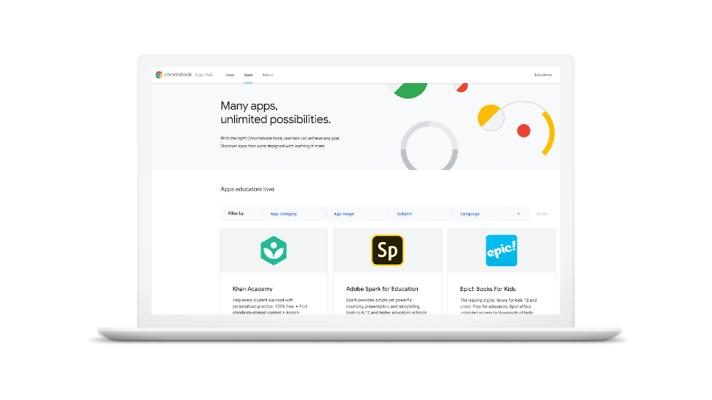 Google launches Chromebook App Hub for educators plus other classroom tools – TechCrunch