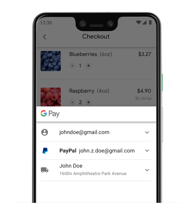 Google Pay expands its integration with PayPal to online