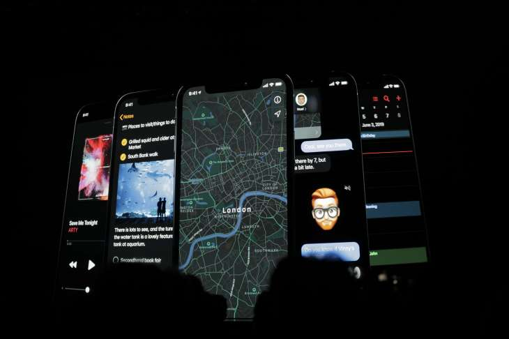 Apple announces iOS 13 with dark mode, updated Apple apps