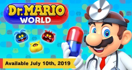 Dr  Mario is in (on iOS and Android) July 10 | TechCrunch