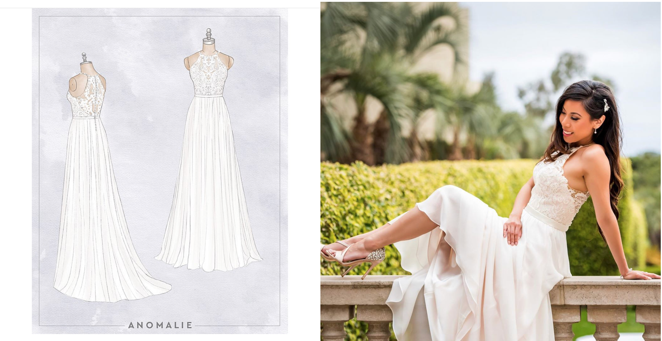 Wedding Dress Customizer Anomalie Raises 13m As Bridal Stores Crumble Techcrunch