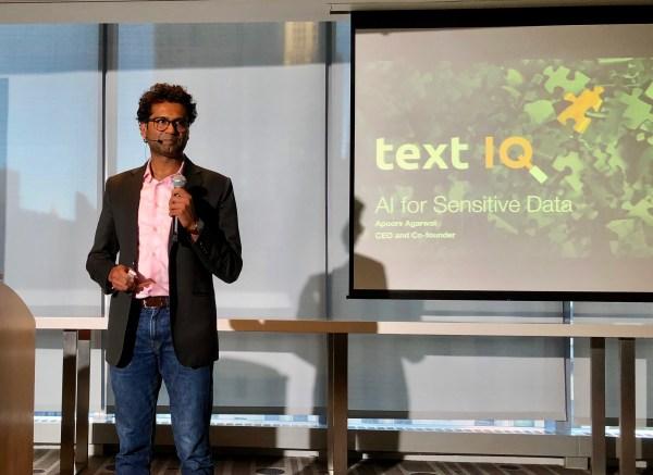 TextIQ, a machine learning platform for parsing sensitive corporate data, raises $12.6M