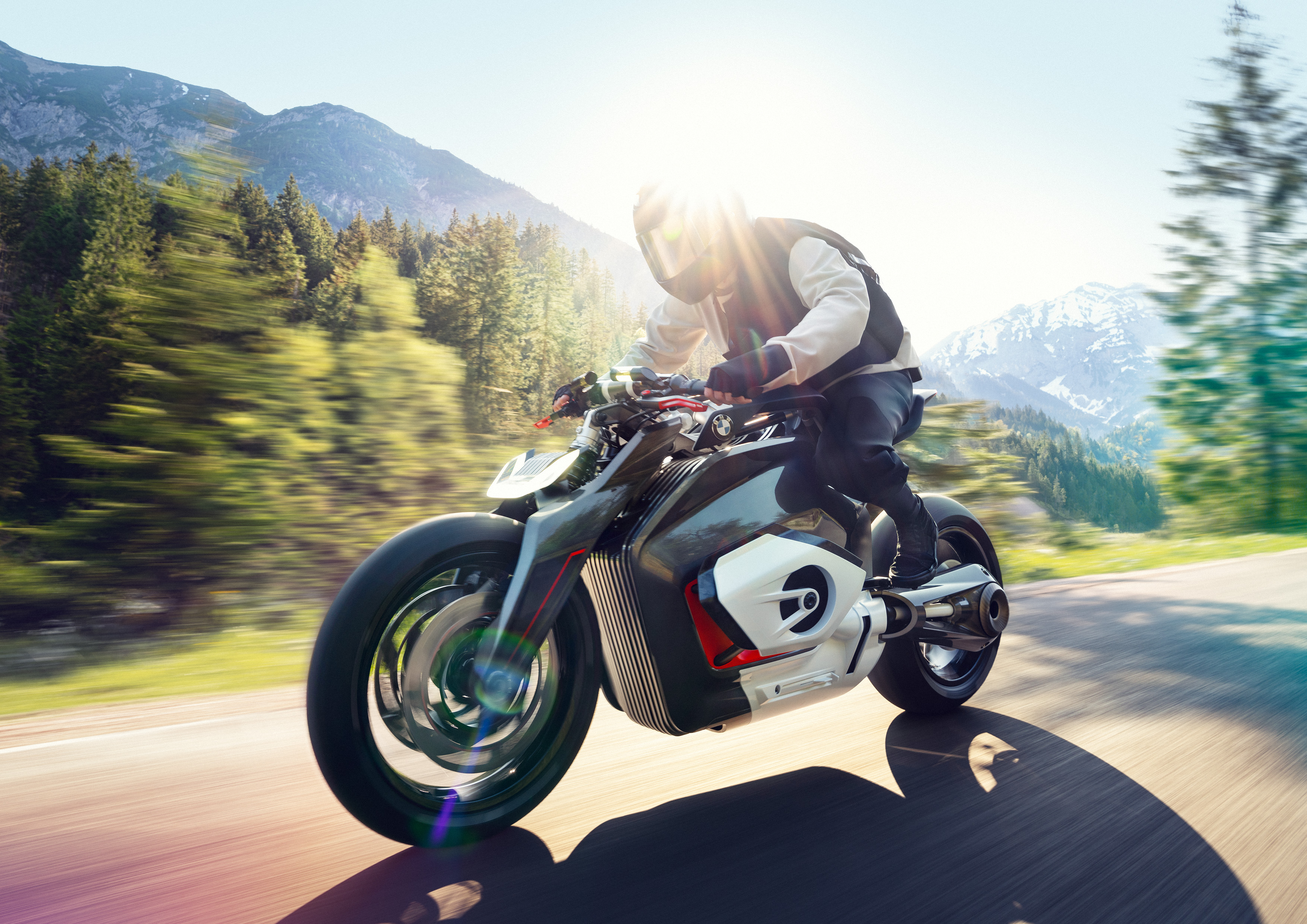 New BMW Motorcycle >> Here Is Bmw S New Electric Motorcycle Concept Techcrunch