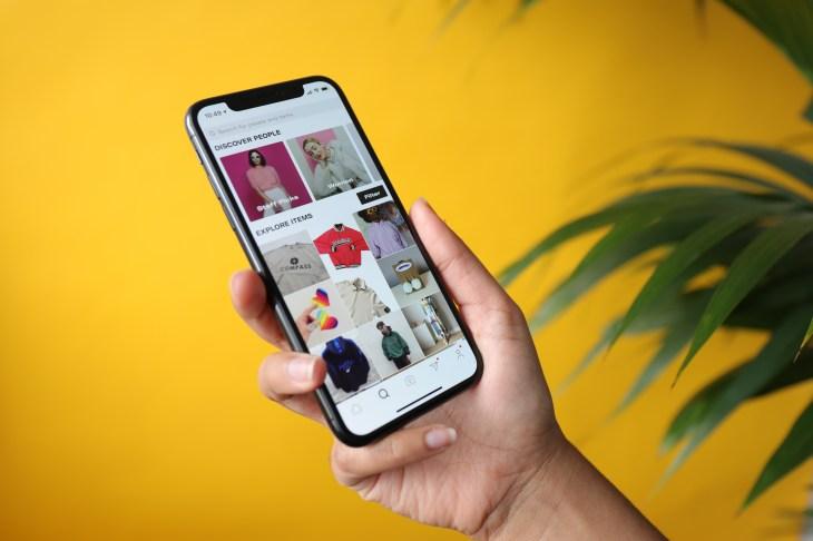 Depop, a social app targeting millennial and Gen Z shoppers