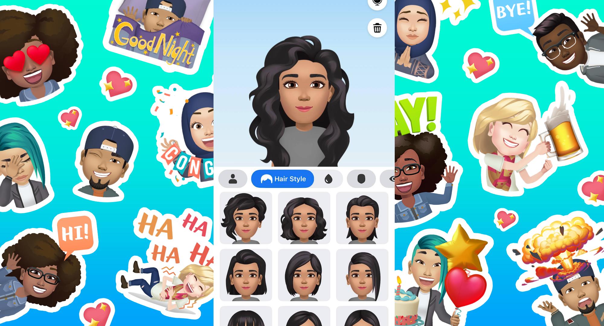 Facebook Introduces Avatars Its Bitmoji Competitor Techcrunch