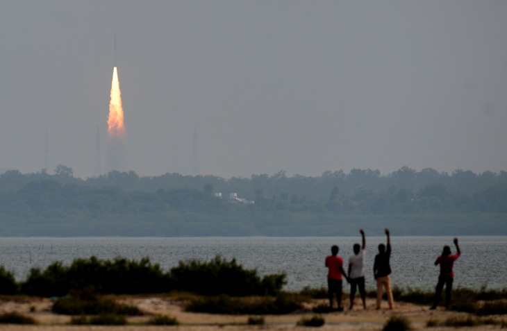 INDIA-SPACE-SATELLITE