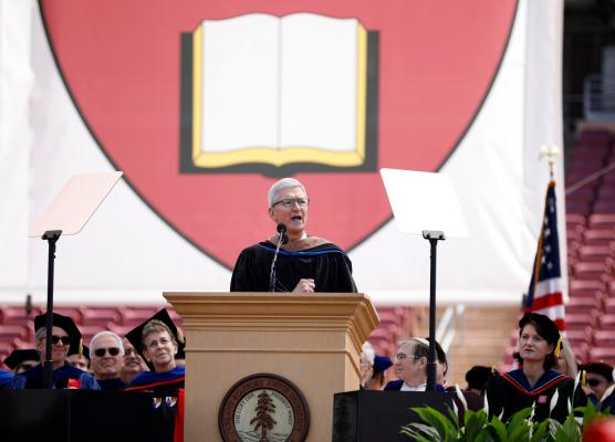 Tim Cook says Silicon Valley has created too much chaos