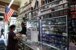 SAN FRANCISCO, CALIFORNIA - JUNE 25: E-Cigarette vaporizer components and products are displayed at Smoke and Gift Shop on June 25, 2019 in San Francisco, California. The San Francisco Board of Supervisors voted unanimously, 11-0, to be the first city in the United States to ban e-cigarettes, nicotine pods and devices that have not been approved by the Food and Drug Administration.