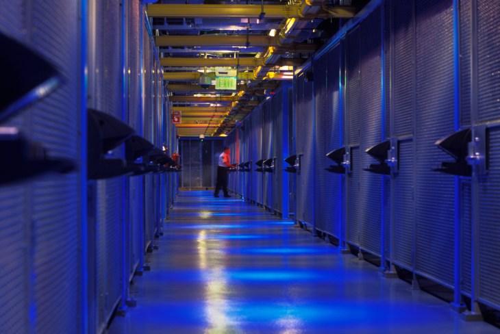 Equinix Server Room