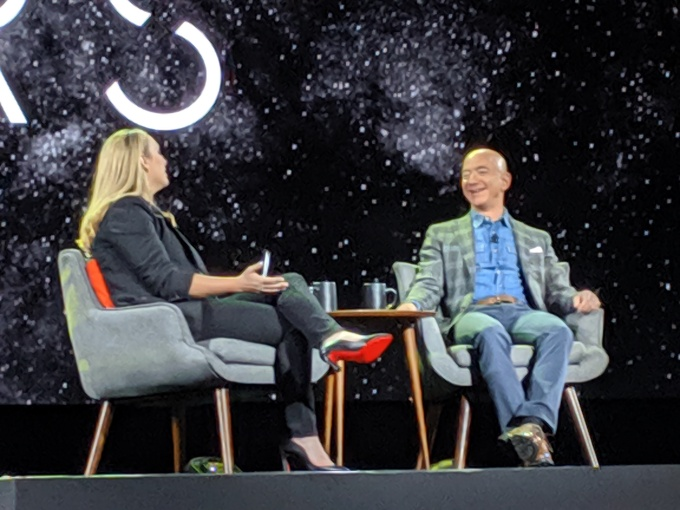 Jeff Bezos wants to build the infrastructure for space startups