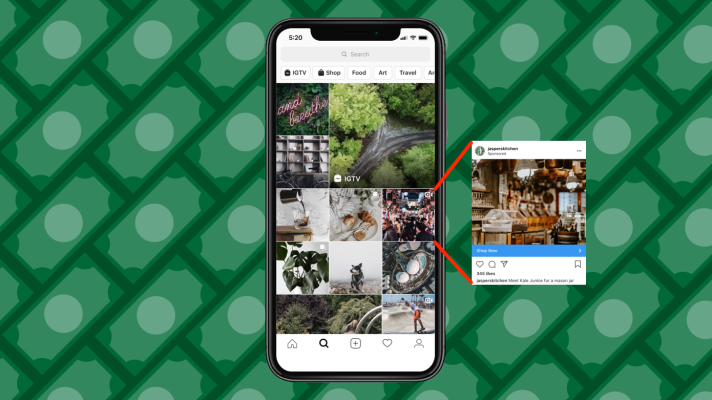 Facebook squeezes money from Instagram with new ads in Explore – TechCrunch