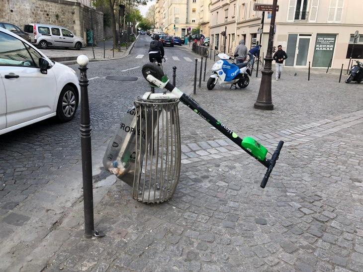 Paris clamps down on scooter startups | TechCrunch